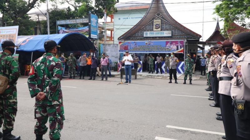Operasi Yustisi Dilakukan di Kawasan Pasar