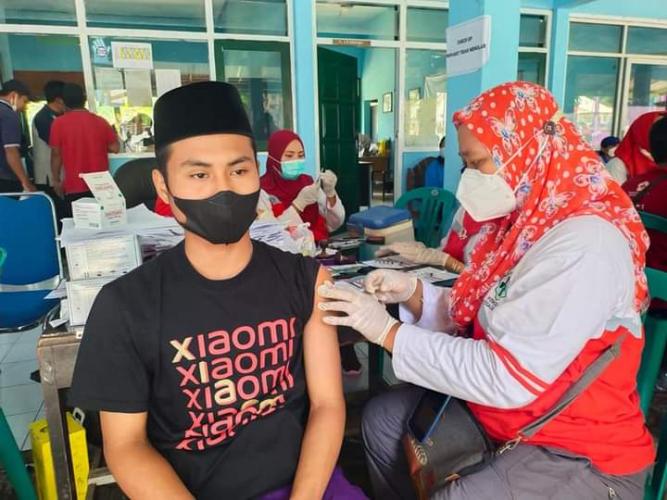 Pemkab Probolinggo Suntikkan Vaksin Moderna Untuk Masyarakat
