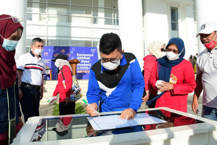 Gelar Kampanye Germas, Walikota Palopo Ajak Masyarakat Terapkan Pola Hidup Sehat