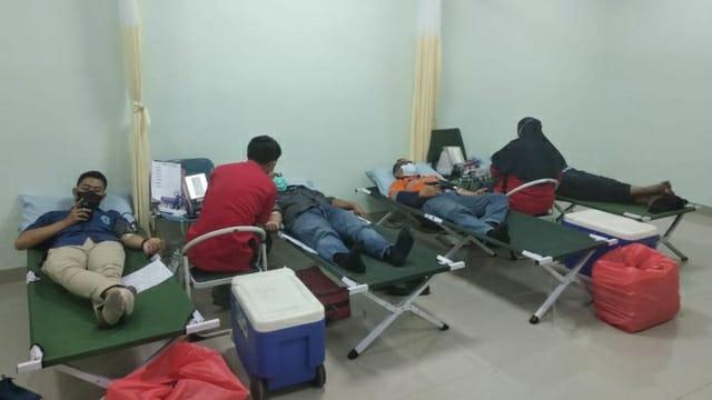 RS Soedarsono Gelar Donor Darah dengan Prokes Ketat