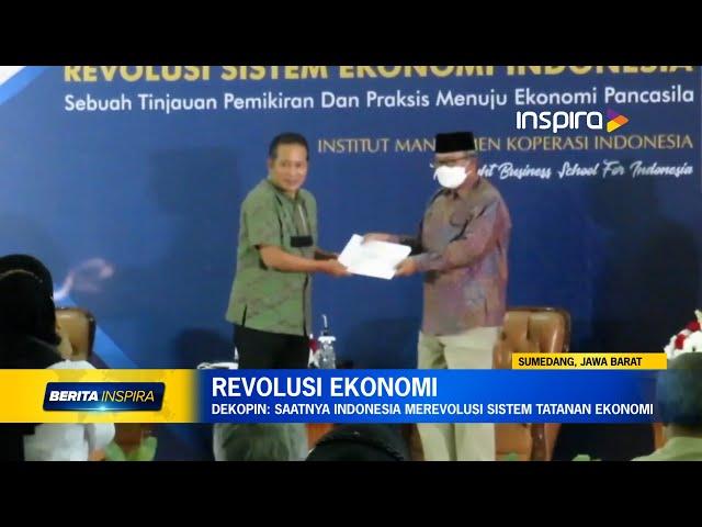 INSPIRA TV_Saatnya Indonesia Merevolusi Sistem Tatanan Ekonomi