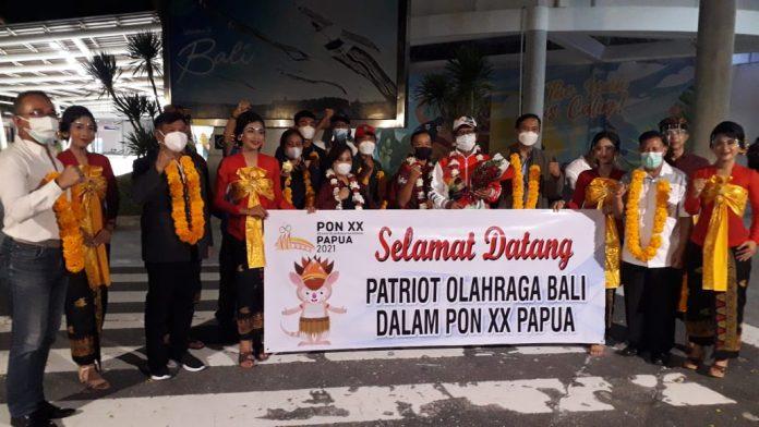 Tiba di Bali Seluruh Kontingen PON dengan Prokes Ketat Langsung Dikarantina