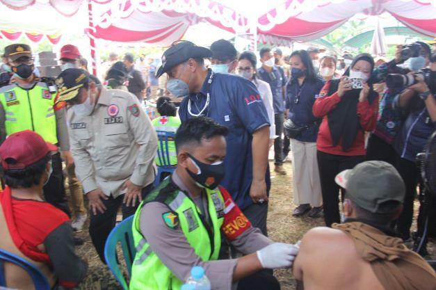 Capaian Masih Rendah, Batalyon Vaksinator Sasar Kapuas