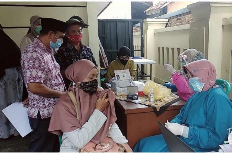 Kantor Polisi di Tasikmalaya Disulap Jadi Tempat Vaksinasi