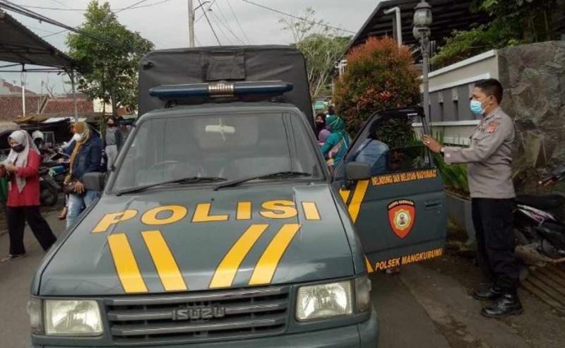 Polisi Antar Jemput Peserta Vaksinasi Covid-19 di Kota Tasikmalaya