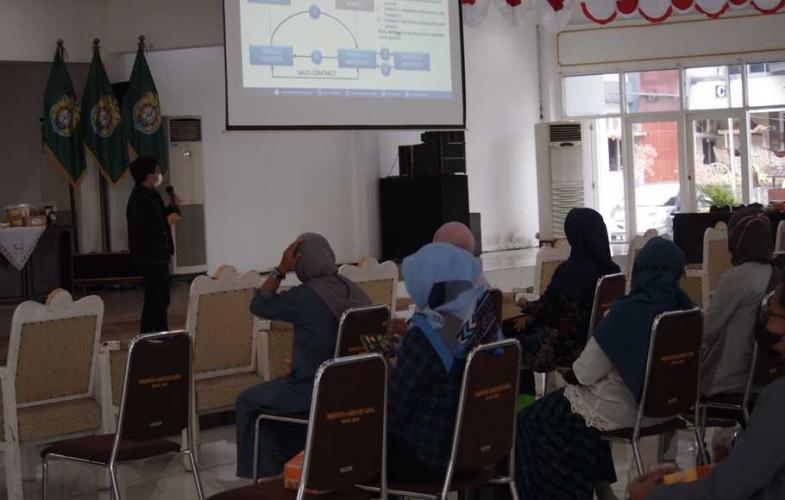 LPEI Gelar Pelatihan CPNE di Kendal Soal Digital Marketing