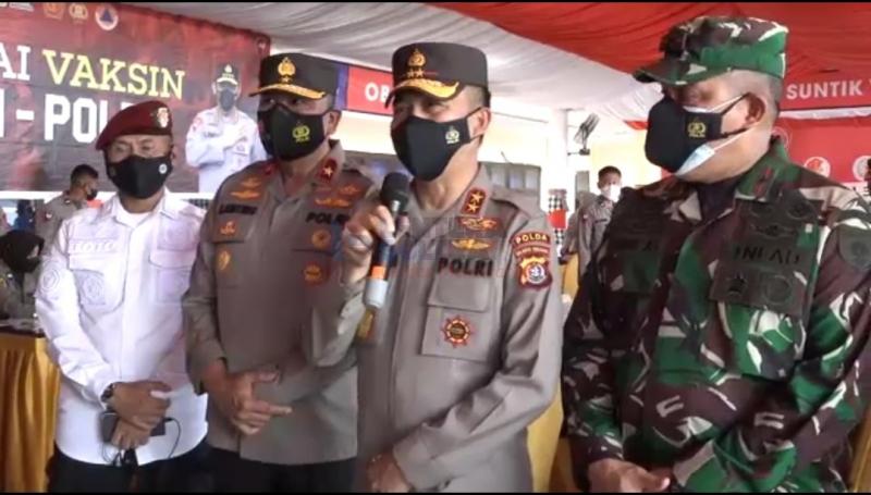 Vaksinasi Massal TNI-Polri Akabri 89 Target Tuntaskan 10.000 Dosis Vaksin