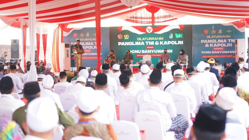 Dialog dengan Tokoh Agama, Panglima TNI dan Kapolri Sebut Ulama Berperan Penting Tanggulangi Pandemi